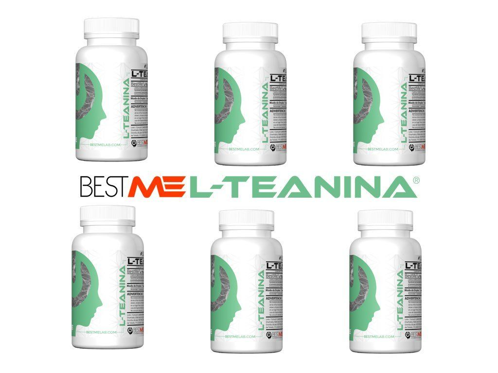 Seis Botes de L-Teanina